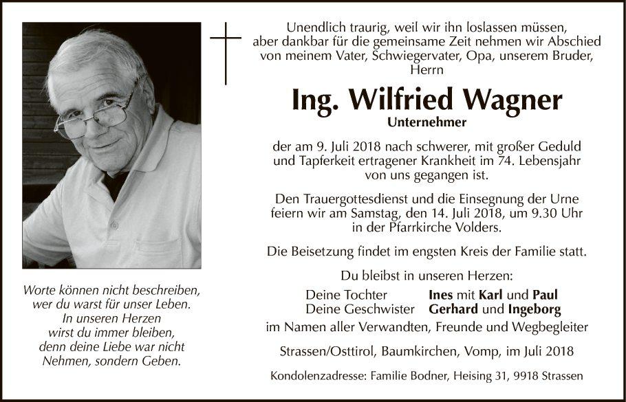 Ing. Wilfried Wagner