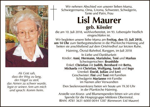 Lisl Maurer