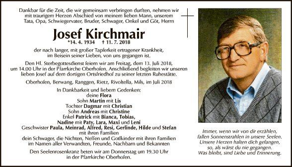 Josef Kirchmair