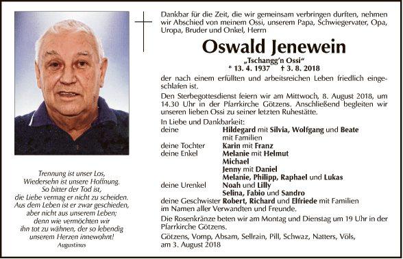 Oswald Jenewein
