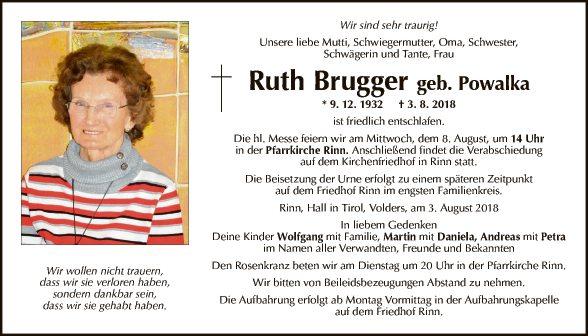 Ruth Brugger