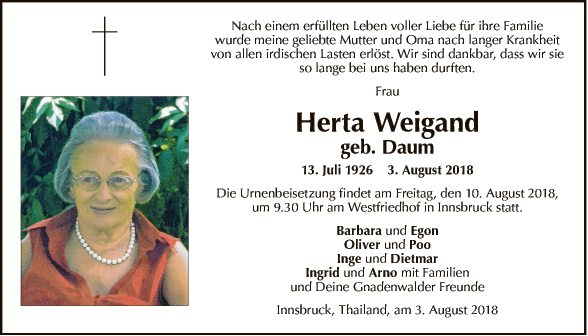 Herta Weigand