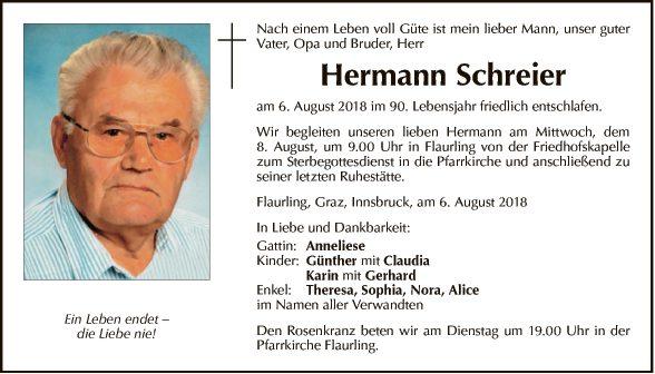 Hermann Schreier