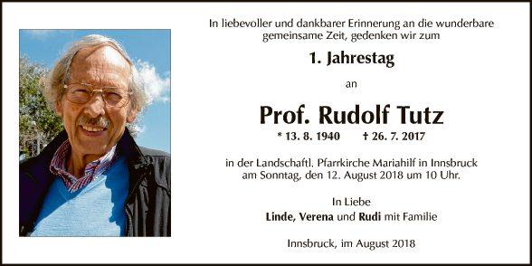 Rudolf Tutz