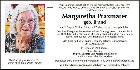 Margaretha Praxmarer