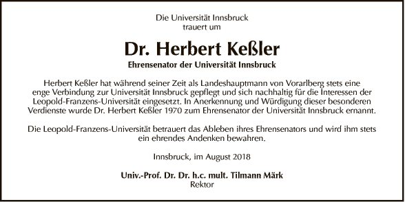 Dr. Herbert Keßler