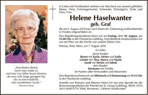 Helene Haselwanter
