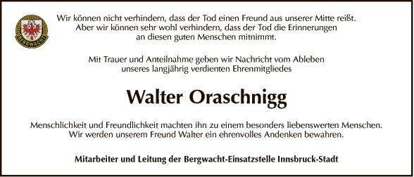 Walter Oraschnigg
