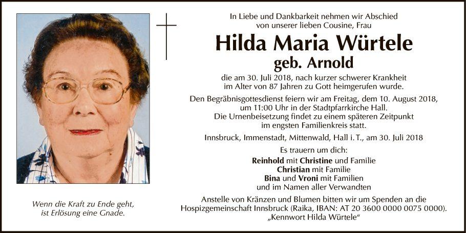 Hilda Maria Würtele
