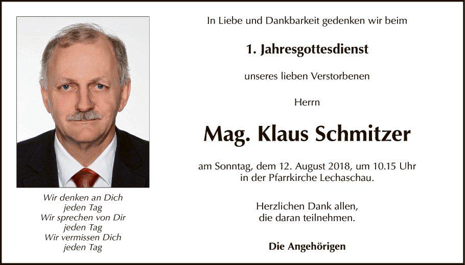 Klaus Schmitzer