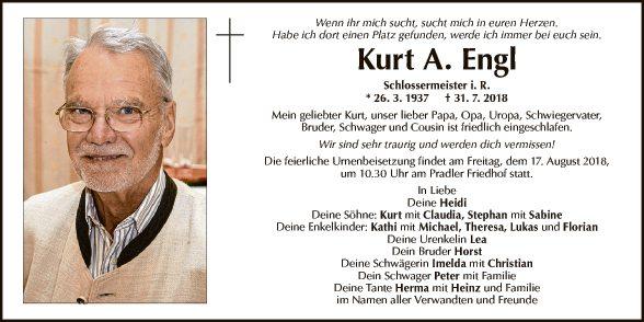 Kurt A. Engl