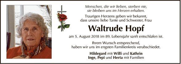 Waltrude Hopf