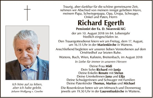 Richard Egerth