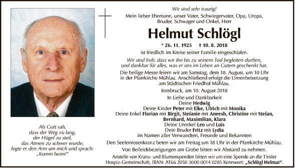 Helmut Schlögl