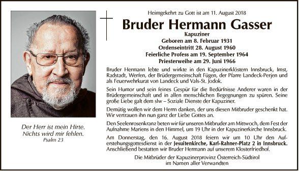 Bruder Hermann Gasser