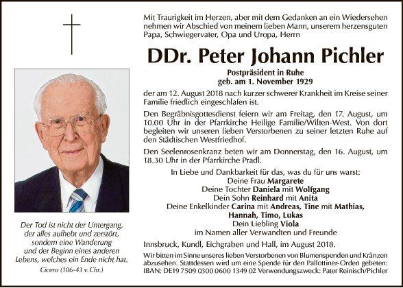 DDr. Peter Johann Pichler
