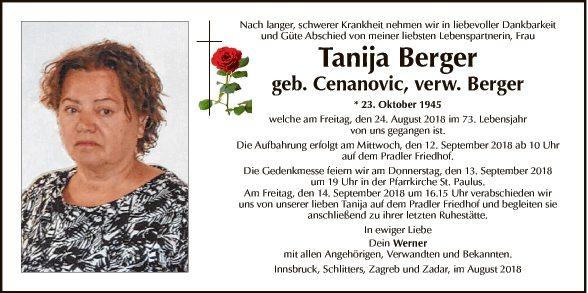 Tanija Berger