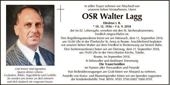 OSR Walter Lagg