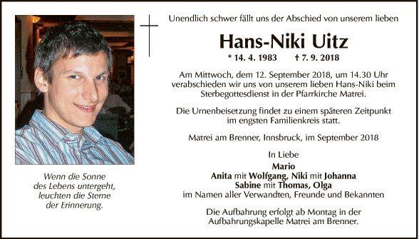 Hans-Niki Uitz