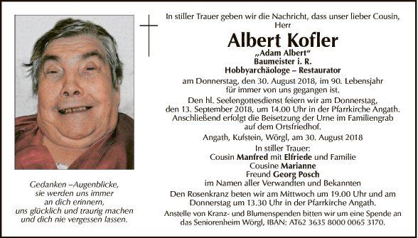 Albert Kofler
