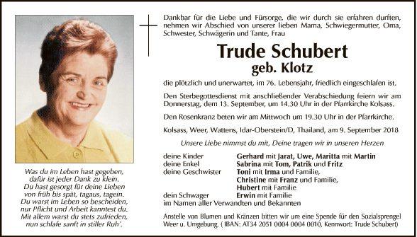 Trude Schubert