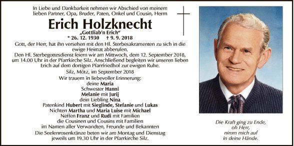 Erich Holzknecht