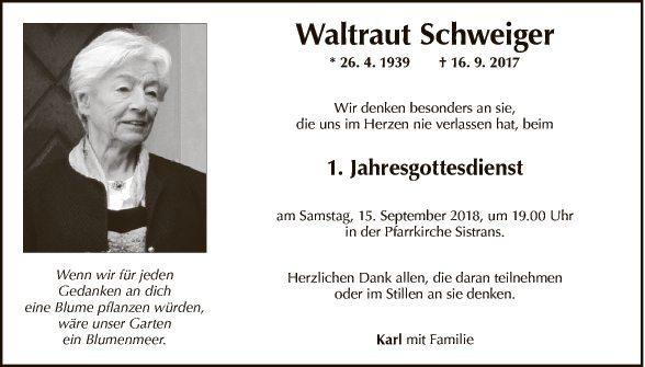 Waltraut Schweiger