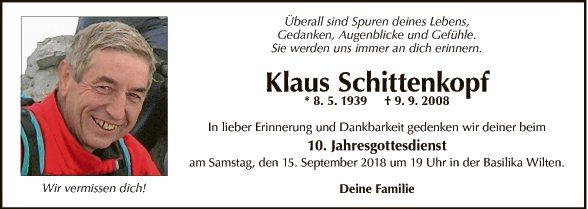 Klaus Schittenkopf