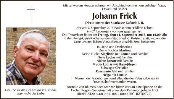 Johann Frick