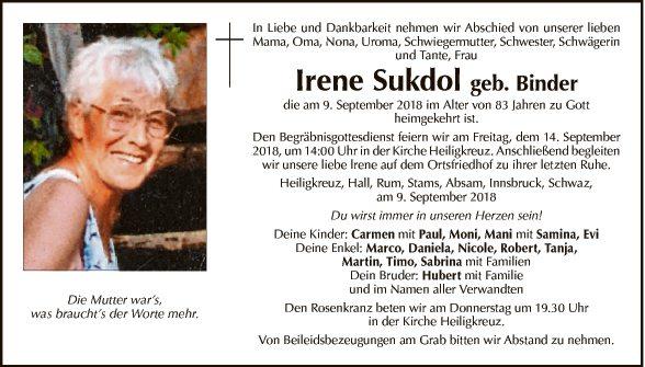 Irene Sukdol