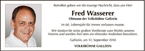 Fred Wasserer