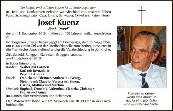 Josef Kuenz