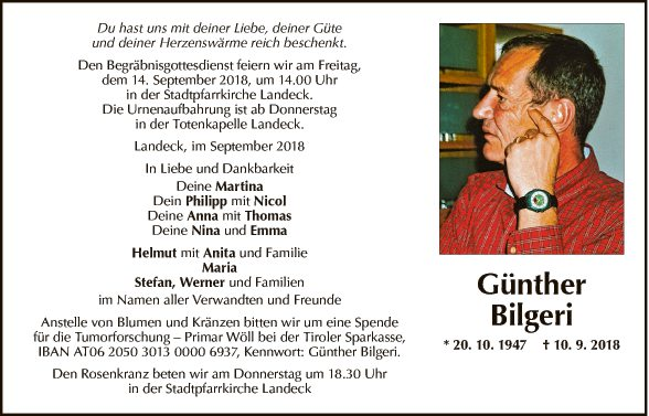 Günther Bilgeri
