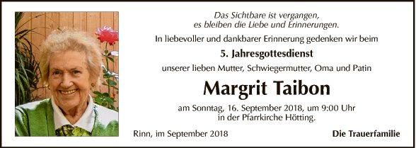 Margit Taibon
