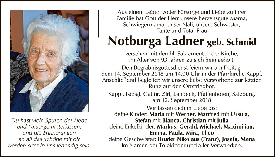 Notburga Ladner