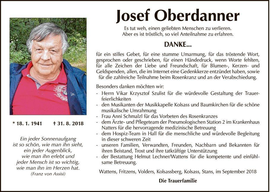 Josef Oberdanner