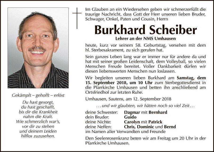 Burkhard Scheiber