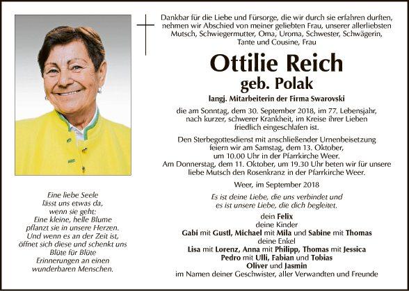 Ottilie Reich
