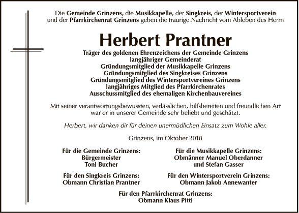 Herbert Prantner