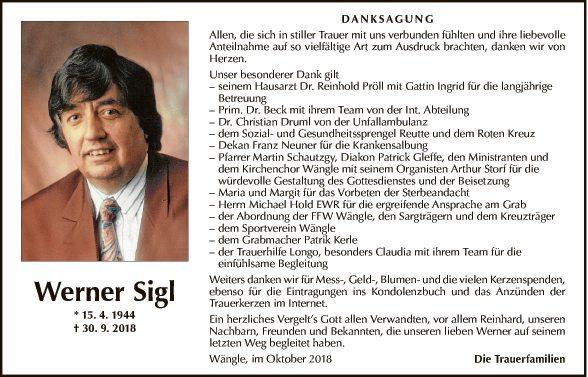 Werner Sigl