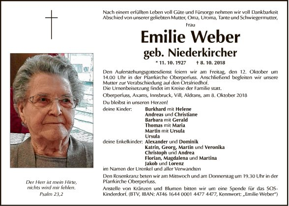 Emilie Weber