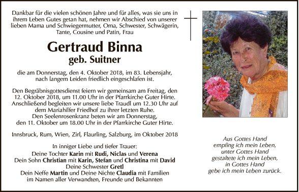 Gertraud Binna