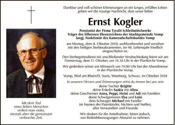 Ernst Kogler