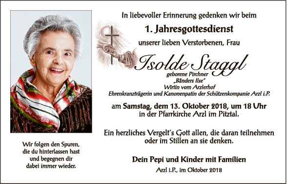 Isolde Staggl