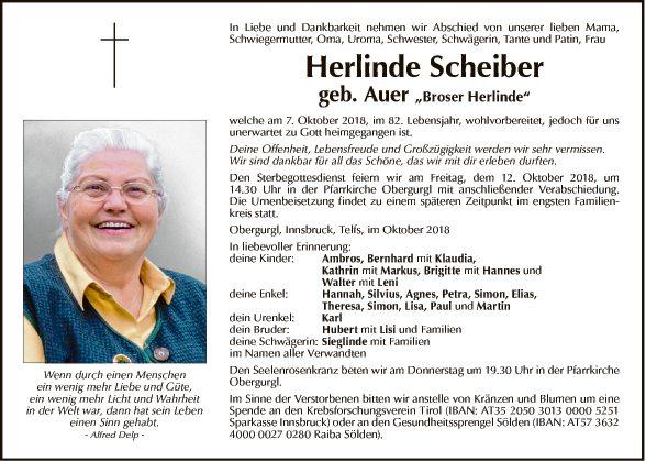 Herlinde Scheiber