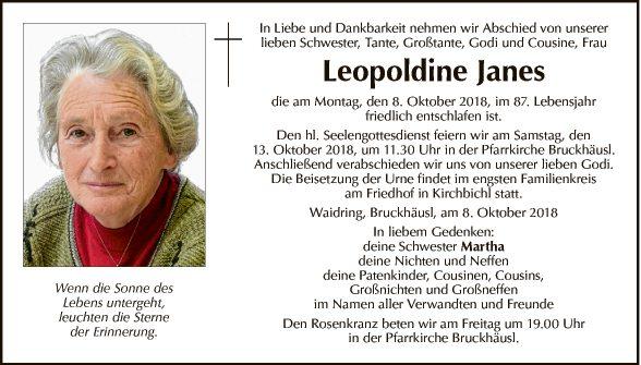Leopoldine Janes