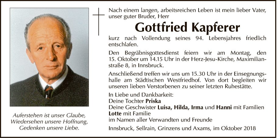 Gottfried Kapferer