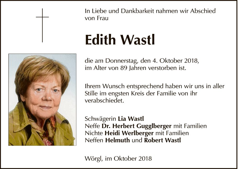 Edith Wastl