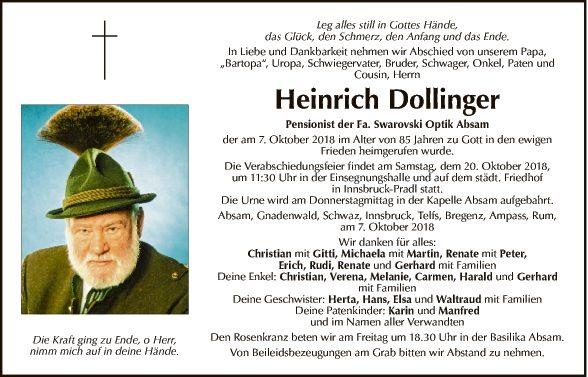 Heinrich Dollinger