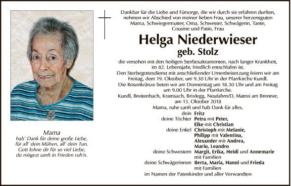 Helga Niederwieser
